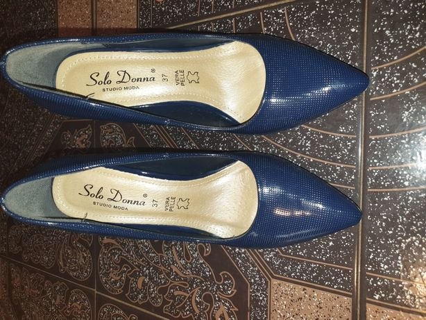 Vand pantofi piele Solo Donna mar 37
