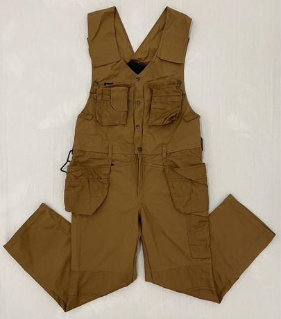 Pantaloni salopeta SNICKERS (54 XL barbat) bretele buzunare rezistenti