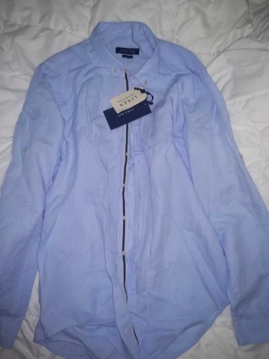 Vând cămașă nouă, Zara Men Slim Fit Bucuresti - imagine 1