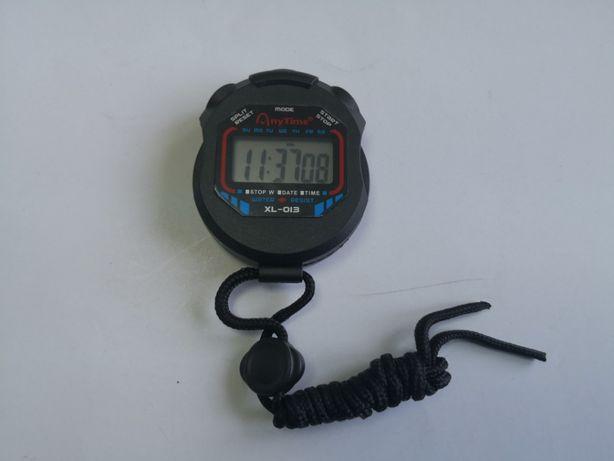 Cronometru digital cu ceas si alarma