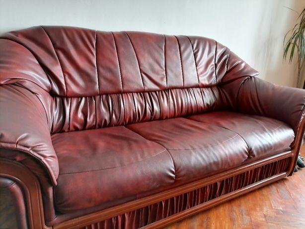 Canapea extensibila si fotoliu