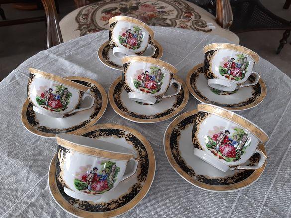 Нежни порцеланови чаши за кафе