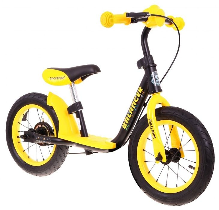 Bicicleta de echilibru fara pedale BALANCER, Galben Bucuresti - imagine 1
