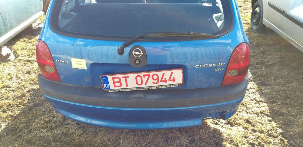 Bară spate,haion,stopuri Opel Corsa B Deda - imagine 1