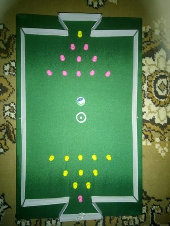 Joc de fotbal (amintiri din anii 1980-1990)- 1 singur exemplar