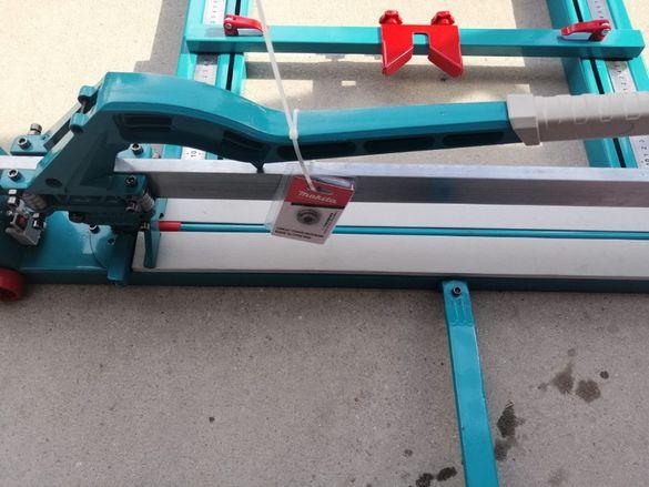 Машина за рязане на плочки Макита релсова професионална