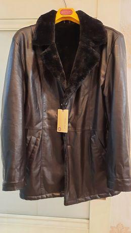 Продаётся новая кожаная куртка