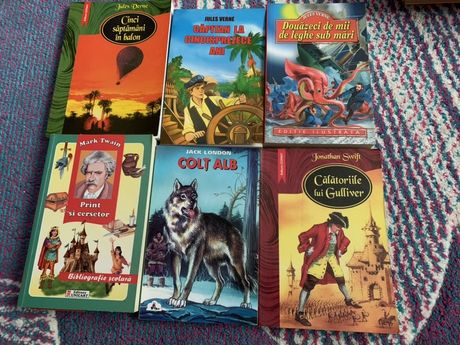 Carti pentru copii/adolescenti autori universali si romani