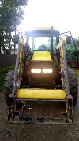 Tractor case jx80 cu încărcător frontal
