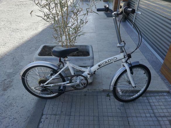 "Сгъваем алуминиев велосипед SAXON FOLD UP 20"""