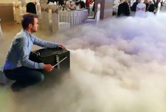 Masina Fum Greu Profesionala MK3 artificii nunta vulcani