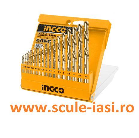 Set burghie metal, HSS, INGCO