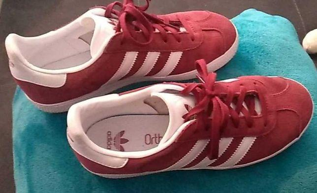 """Adidasi """"Adidas Gazelle"""" 37 1/3 piele intoarsa 150 ron"""