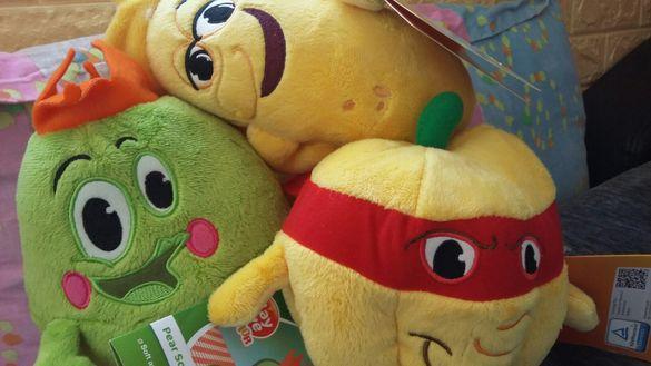 Плюшени играчки Бандата на свежите таланти
