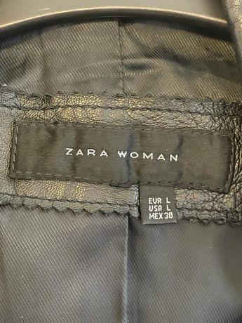 Geaca piele naturala Zara