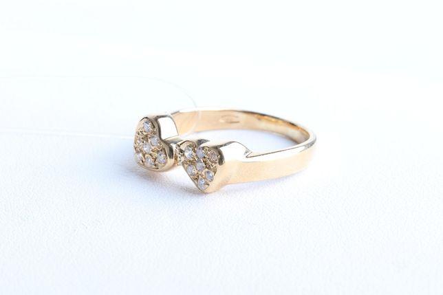 Кольцо с бриллиантами, золото 750 Россия, вес 4.46 г. «Ломбард Белый»