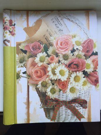 Альбом для фото (новый) Цветы