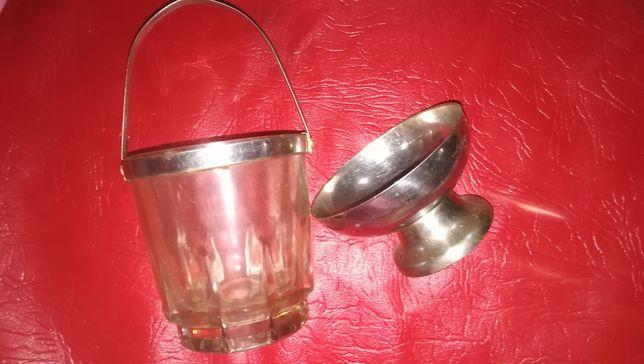 Cosulet de sticla si cupa de inghetata