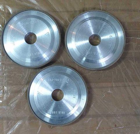 Discuri diamantate fi 100 mm ax 20 mm pentru ascutit scule 6A2