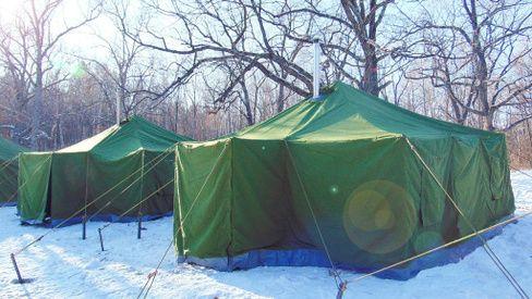 Палатка 3*6 брезентовый