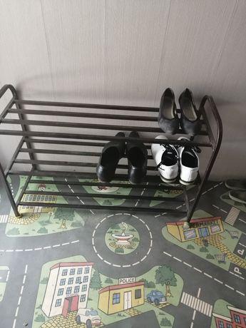 Обувная полка металическая