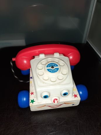 Telefon vechi Fisher Price 1961 si catel Fisher Price 1965