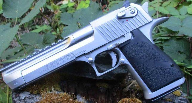 Pistol Airsoft Desert Eagle Silver Full METAL# Co2# 4j#