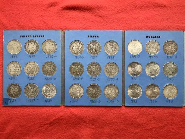 Monede One Dolar din argint
