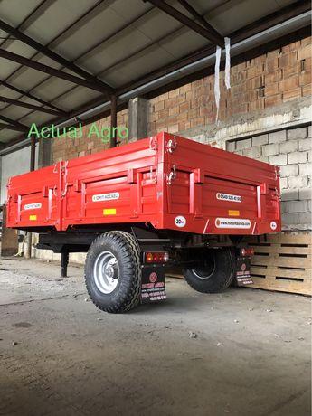 Remorca agricola 4 tone monoax