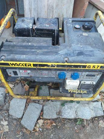 Generator de curent  Wacker  G5.7 cu motor Honda GX340 pe benzina