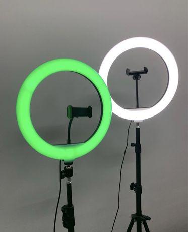 33см Цветная Лампа RGB Разноцветная Лампа + Штатив + Шарнир в Подарок!