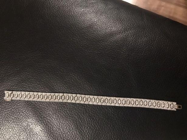 Vând bratara de aur cu diamante 26,4 gr
