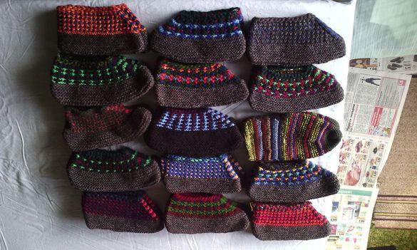 Домашно плетени терлици и чорапи