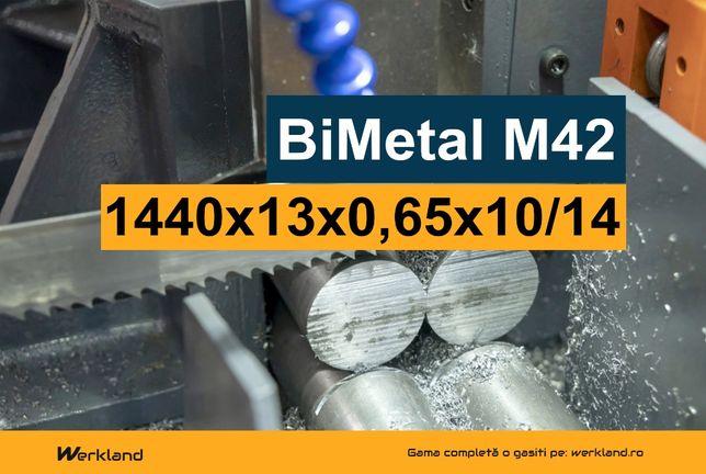 Panza panglica banzic debitat metale BiMetal M42 1440x13x0.65x10/14