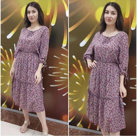 Новое платье штапель размер 44-46