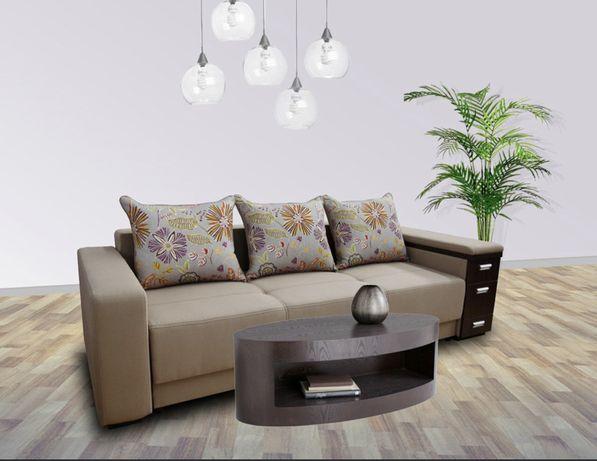 Canapea extesibila cu lada depozitare