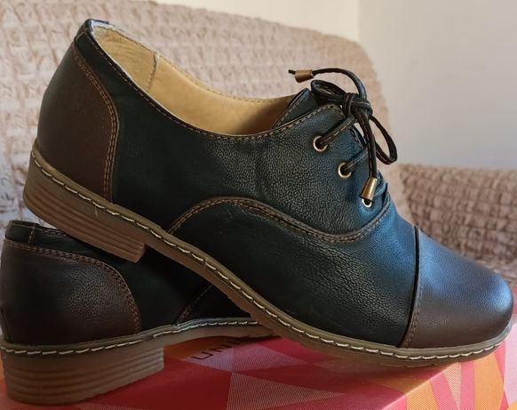 Продам туфли, новые, кожа