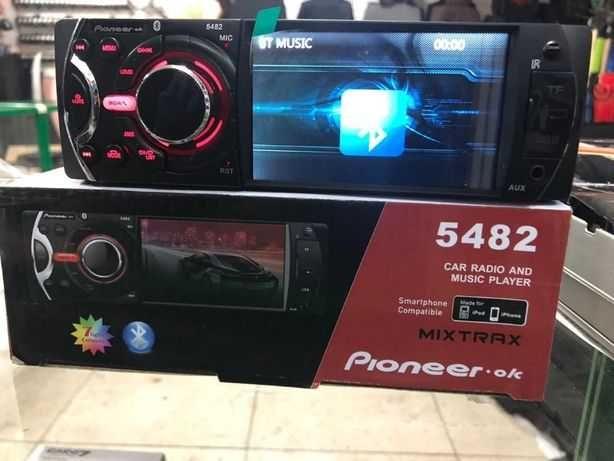 Автомобильная Магнитола с экраном 4.1 дюйма магнитофон Usb SD BT AUX