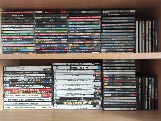 Игры (диски) для PC #разных жанров# , компьютерные , видео , ПК игры