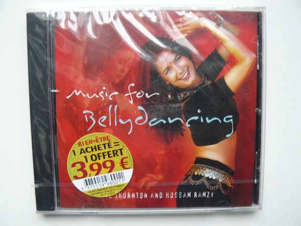 "CD Album ""Music For Bellydancing - Phil Thornton & Hossam Ramzy"" Nou"