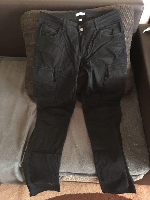 Blugi 34 si pantaloni negri cargo Timisoara - imagine 1