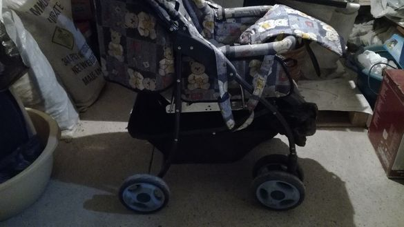 БЕБЕШКА количка ЧИПОЛИНО- многофункционална
