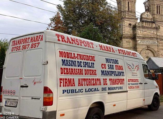 Transport marfă, mobilă, diverse/Mutări