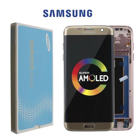 Оригинален LCD дисплей с тъч скрийн за Samsung Galaxy S7 Edge G935F