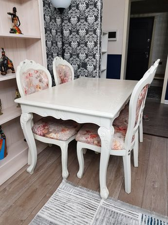Обеденный стол + 4 стула