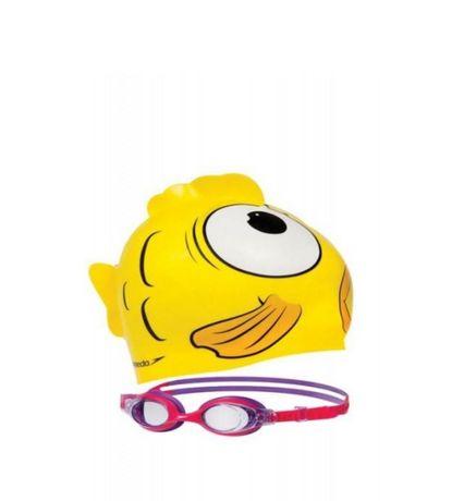 Set inot casca si ochelari,pentru copii Speedo Sea Squad  2-6 ani