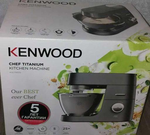 Кухонный комбайн KENWOOD KVC 7300S серебристый