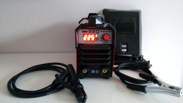 Електрожени 220 Ампера PROFESSIONAL /RED/-Инверторен електрожен