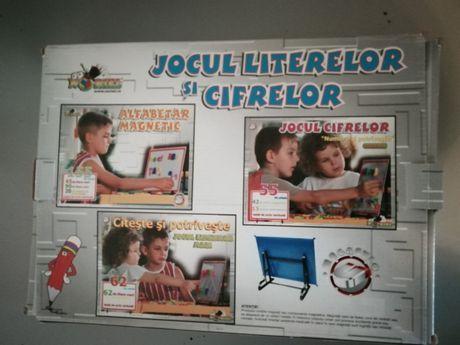 Joc preșcolari, învățare litere