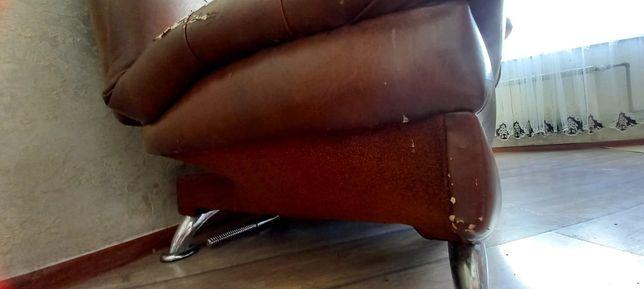 Продам срочна кожаные кресло